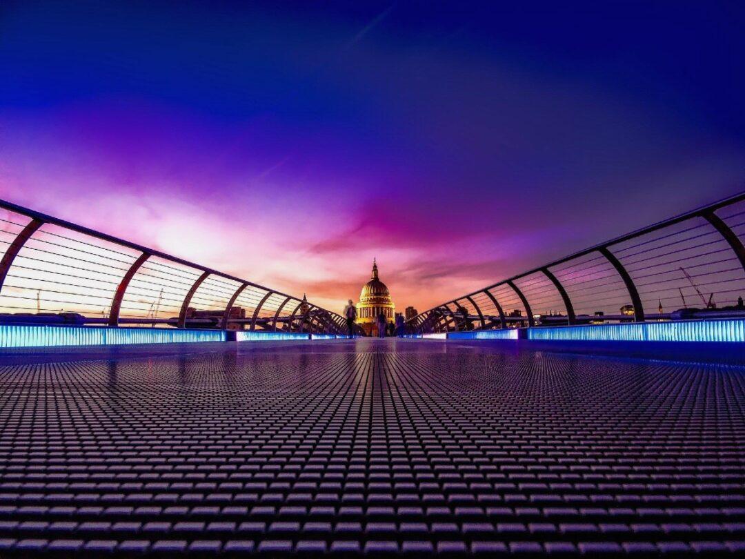 London England Great Britain sunset