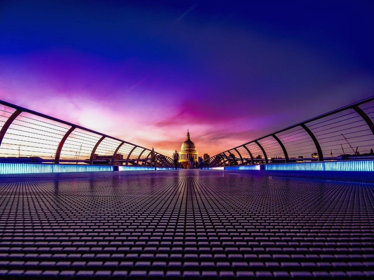London England Great Britain sunset